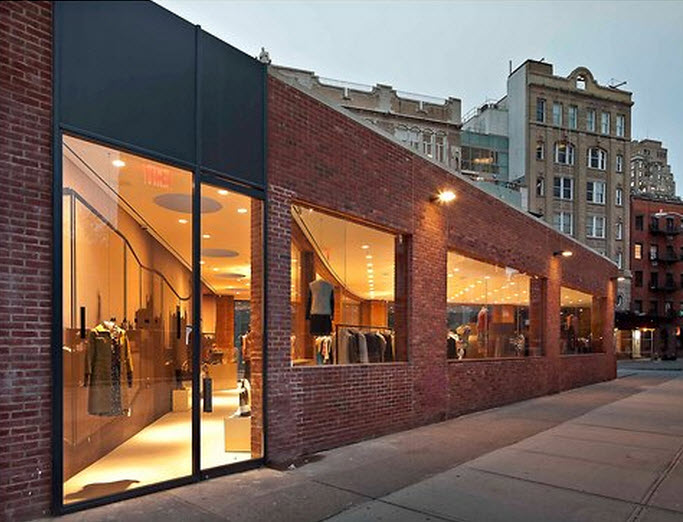 Whether it is because of its unusual triangular footprint or the fact that a sumptuous Yohji Yamamoto boutique occupied it previously, the new Marni space at 1 Gansevoort Street,             (646) 532-6015      , empty for many months, seemed destined for a special tenant.