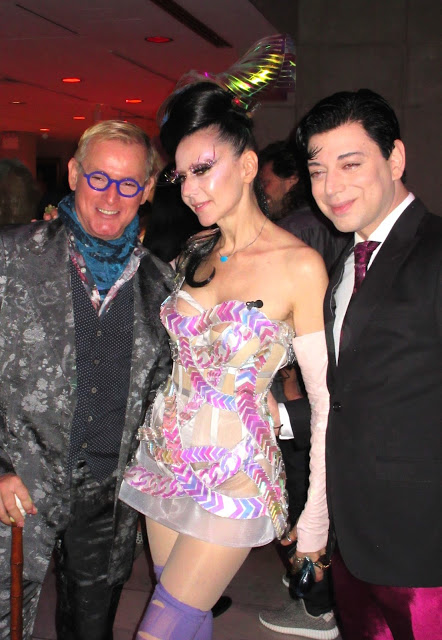 Susanne Bartsch and friends FIT Idiosyncratic Fashionistas IMG_1805
